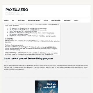 PaxEx.Aero – The Business of Passenger Experience