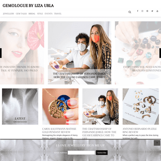 GEMOLOGUE The First Jewelry Blog In Travel & Fashion Context
