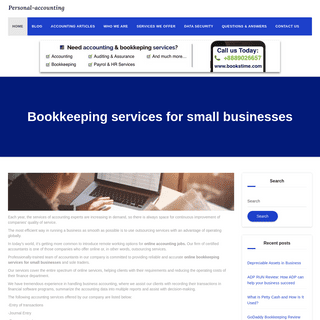 Online accounting for your business. We can help you grow. - Personal Accounting