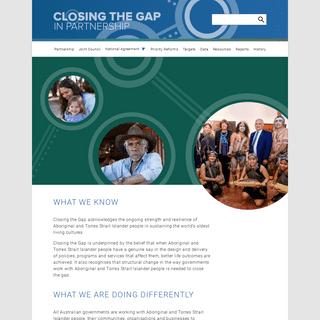 Home - Closing The Gap