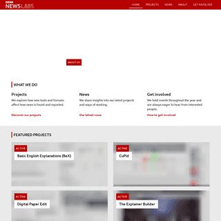 BBC News Labs - BBC News Labs