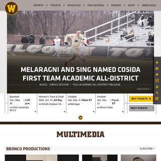 Western Michigan University Athletics - Official Athletics Website