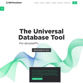 DbVisualizer - The Universal Database Tool