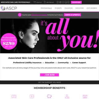 ASCP - Associated Skin Care Professionals