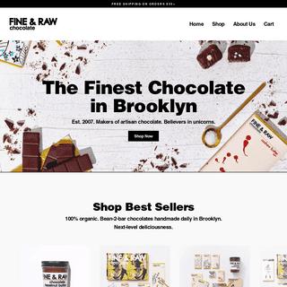 FINE & RAW chocolate makers