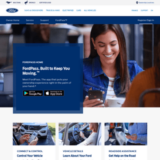 FordPass™ - Mobility App with Connected Services - Official Ford Owner Site