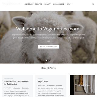 Veganoteca.com – Your Vegan Inspiration Online – Best Vegan Resources, Recipes and More