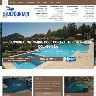 Top Orange County Pool Contractors & Swimming Pool Builders