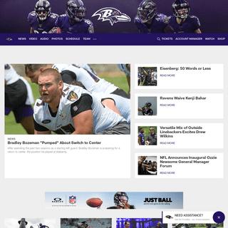 Ravens Home - Baltimore Ravens – baltimoreravens.com