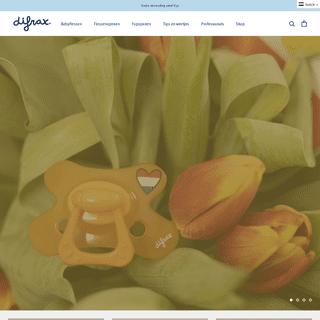 Difrax - Officiële Website - Best New Collection - Difrax