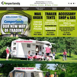 Tents - Trailer Tents - Camping Equipment - Caravan Accessories - Camperlands