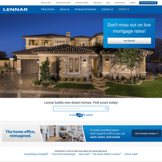 Lennar New Homes For Sale - Building Houses and Communities
