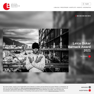 Leica Oskar Barnack Award - internationaler Foto-Wettbewerb