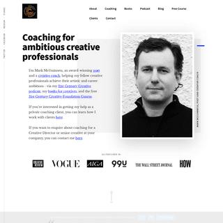 Mark McGuinness - Creative Coach