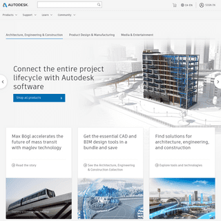 Autodesk - 3D Design, Engineering & Entertainment Software