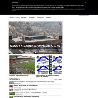 Liguriagol.it il portale del calcio dilettantistico ligure