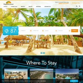 Playa Del Carmen - Discover Hotels, Resorts & Fun Things To Do