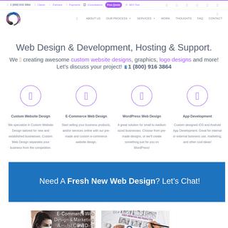 New York Web Design Company - Toronto SEO Agency - Thought Media