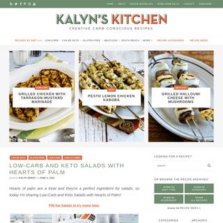 Kalyn`s Kitchen – Creative Carb-Conscious Recipes