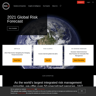 Crisis24 - Actionable Risk Management