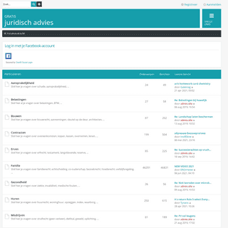 Advies.site - Forumoverzicht