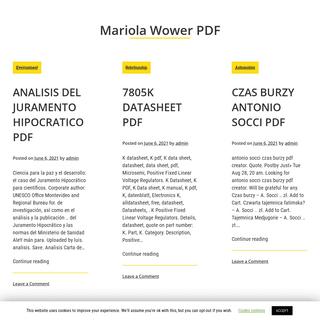 Mariola Wower PDF -