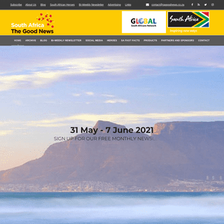 The Home Of Great South African News - SA Good News