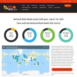 National Moth Week – Exploring Nighttime Nature