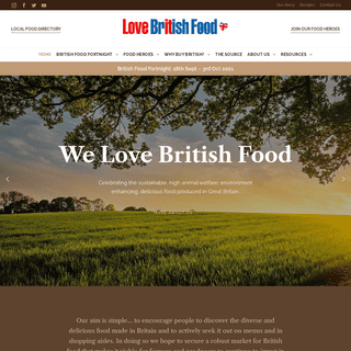 Love British Food - British Food is Great