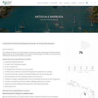 Antigua and Barbuda Citizenship ➤ Passport ➤ -AAAA ADVISER-