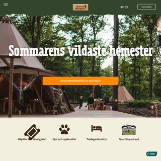 Upplev äventyr för familjen i Skånes Djurpark. Djur, natur & äventyr!