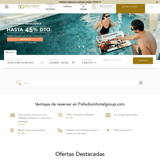Palladium Hotel Group - Ventajas exclusivas para tus viajes