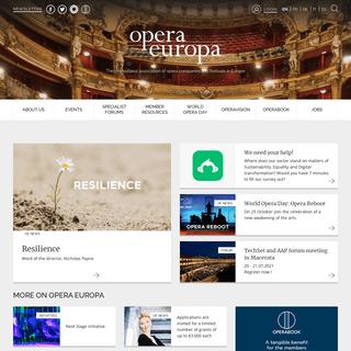 Home - Opera Europa