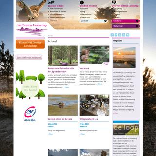 Het Drentse Landschap - Wandelen in natuurgebieden Drenthe