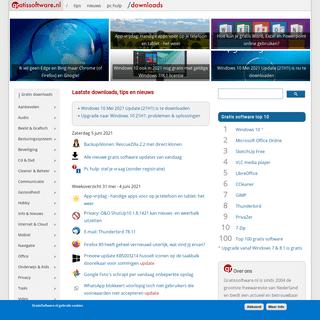 gratissoftware.nl - Betrouwbare gratis downloads- freeware & apps
