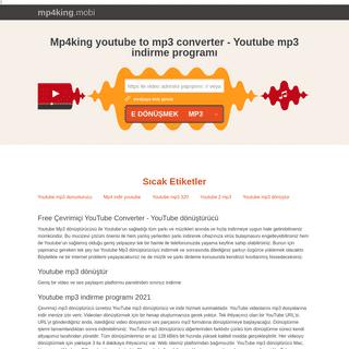 Mp4king youtube to mp3 converter - Youtube mp3 indirme programı