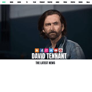 David Tennant - The Original Site
