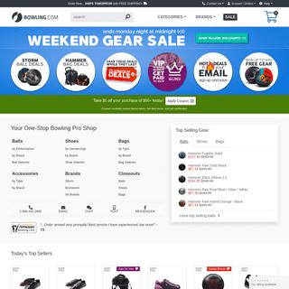 Shop Bowling Balls, Shoes, Bags & More - Top Rated Online Pro Shop