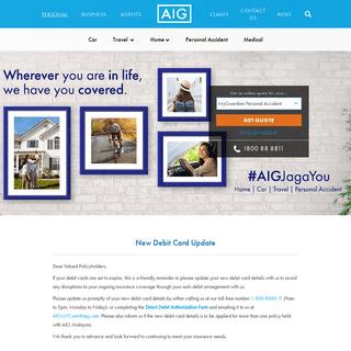 AIG Malaysia - Personal Insurance