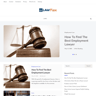Law Flax - The Law and Lawyers Blog