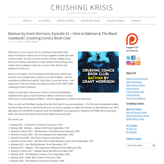 Crushing Krisis - The Newest Oldest Blog In New Zealand
