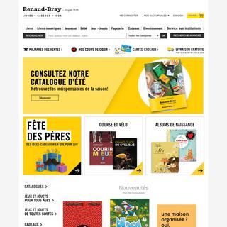 Librairie Renaud-Bray - Livres, Cadeaux, Jeux, Musique et Films