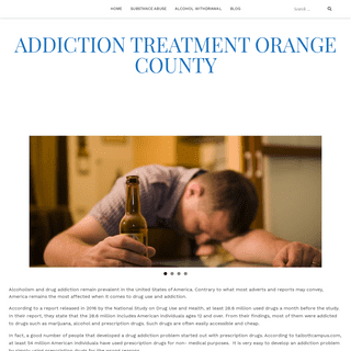 - Addiction Treatment Orange County