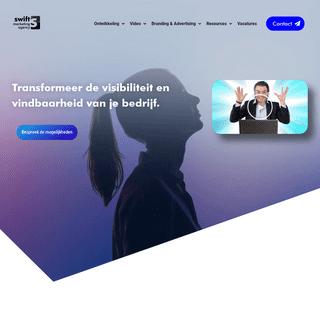 Swift - Marketing agency - Wij verbeteren jouw vindbaarheid en visibiliteit