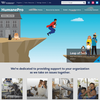 Welcome to HumanePro - HumanePro by The Humane Society of the United States