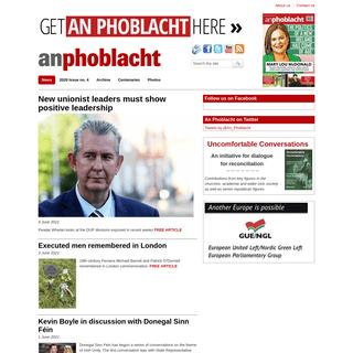 News - An Phoblacht