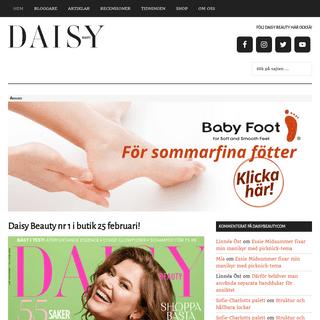 Ärliga skönhetsbloggar och recensioner - Skönhet på allvar - Daisy Beauty