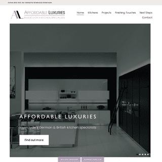Kitchen Design - Greenock Inverclyde - Affordable Luxuries