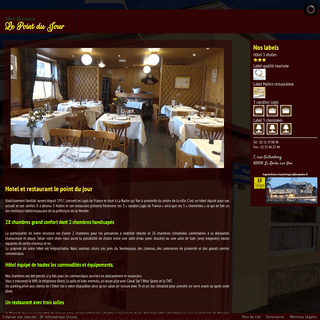 Hotel Restaurant le point du jour Hôtel le point du jour - La roche sur Yon Vendée 85 France
