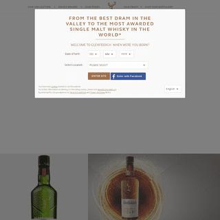 Glenfiddich Whisky- Single Malt Scotch Whisky - 12 to 50 Year Old